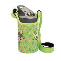 Бутылка пластик Laken Tritan Jannu + Neo Cover 0,45L, KTN4F-VL, Green VACALIN