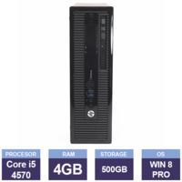 Настольный компьютер HP ProDesk 400 G1 (134506) (i5-4570 | 4 GB | 500GB | SFF  | Win8 Pro)