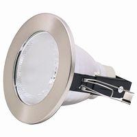 Horoz Electric Встраиваемый светильник HL 602 матовый хром