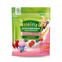Heinz Любопышки каша многозерновая йогуртная - слива, яблоко, малина, черника, 12+мес. 200г