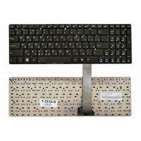 """Keyboard Asus K55 A55 U57 A75 K75 R500, w/o frame """"ENTER""""-Big ENG/RU Black"""