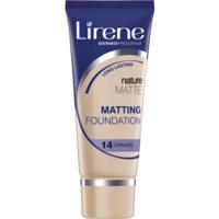 Lirene Nature Matte (14 Caramel) - Матирующий тональный крем