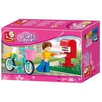 Конструктор GIRL'S DREAM LETTER DELIVERY - Доставка писем - B0516