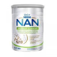 Nestle Nan Тройной комфорт молочная смесь, 0+мес. 400 г