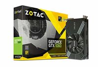 ZOTAC GeForce GTX 1060 Mini 6GB GDDR5, 192bit, 1708/8000Mhz, Single Fan, HDCP, DL-DVI, HDMI, 3xDisplayPort, Lite Pack