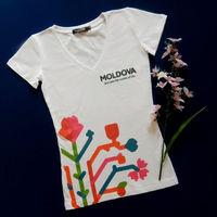 купить Женская футболка с печатью - Древо Жизни 1/2 в Кишинёве