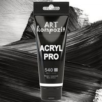 Vopsea acrilică Art Kompozit, (540) negru , 75 ml