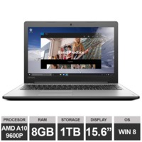 "Ноутбук Lenovo IdeaPad 310-15ABR (15,6"" A10 9600P HDGraphics 8GB 1TB Win8) White"