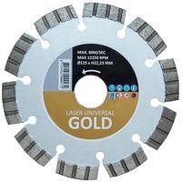 Диск алмазный d125x22,2x10 GOLD LASER HITACHI-HIKOKI