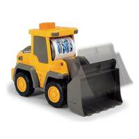 Dickie maşină de constructie cu sunet şi lumină Happi Fend, 16 cm