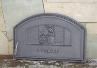 Дверца чугунная глухая правая Halmat - DCHD2-Р