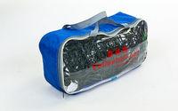 купить Сетка волейбольная черная с тросом PW06, 9.5m*1m, 10*10cm (размер ячейки), d=2.8mm (3848) в Кишинёве