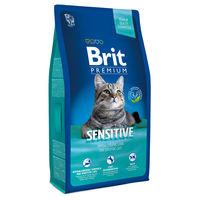 Brit Premium Cat Sensitive (ГИПОАЛЛЕРГЕННЫЙ КОРМ ПРЕМИУМ-КЛАССА ДЛЯ КОШЕК С ЧУВСТВИТЕЛЬНЫМ ПИЩЕВАРЕНИЕМ)