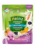 Heinz Лакомая каша кукурузная молочная тыква, чернослив, морковочка, 5+мес. 170 г