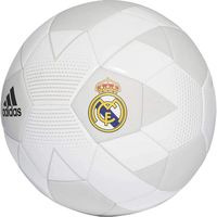 Adidas REAL MADRID FBL CW4156, Football Size 5, 410-450g, Sewing, Recreation, White/Beige