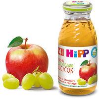 Сок яблочно-виноградный Hipp, 200мл