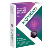 Kaspersky Internet Security 2013 - 2 users, 1 year, DVD box