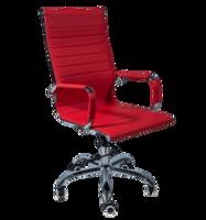 Офисное кресло 501 красное