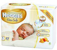 Huggies Elite Soft 1 (2-5 кг.) 27 шт.