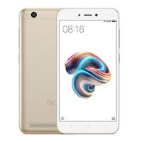 "5.0"" Xiaomi RedMi 5A (Global) 16GB Gold 2GB RAM, Qualcomm Snapdragon 425 Quad-core 1.4GHz, Adreno 308, DualSIM, 5.0"" 720x1280 IPS 296ppi, microSD, 13MP/5MP, LED flash, 3000mAh, FM-radio, WiFi-AC, BT4.2, LTE, Android 7.1 (MIUI9), Infrared port"