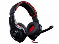 "MARVO ""Ice Dragon ASH-521"", Gaming Headset, Black-Red"