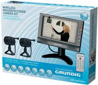 Камера наблюдения Grundig 72787 2XCMOS & Monitor 7 inch