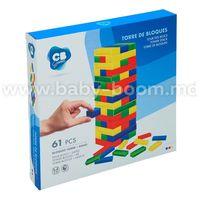 """Color Baby 43752 Настольная игра """"Башня из блоков"""""""