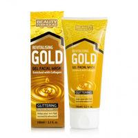 Beauty Formulas Gold Revitalising Gel Facial Mask with Collagen - Маска для глубокой очистки
