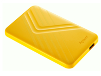 2,0 ТБ (USB3.1) 2,5-дюймовый сверхтонкий портативный жесткий диск Apacer AC236, желтый (AP2TBAC236Y-1)