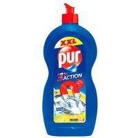 Detergent de vase Pur 3X Action Lemon 1350ml+Detergent de vase Pur 450