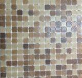 Мозайка стеклянная A18+A25+A22+A21 (коричневая 4 цвета)
