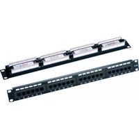 24 port patch panel cat.5e, LY-PP5-05