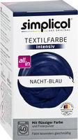 SIMPLICOL Intensiv-Nacht Blau Vopsea pentru haine si textile in masina de spalat, noapte Albastră