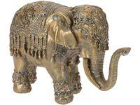 """купить Статуэтка """"Слон в накидке"""" керамическая,19.2X12.3X7cm,золото в Кишинёве"""