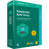 Kaspersky Anti-Virus BOX  2 Dt 1 Year Base