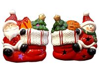 """Сувенир с подсветкой """"Дед Мороз на сапожке"""""""