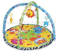 """Baby Mix TT-01917453 Игровой развивающий коврик """"Животные"""""""