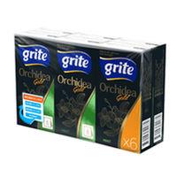 GRITE - Бумажные носовые платки Orchidea Gold Mint 6x9