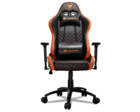 Gaming Chair Cougar ARMOR S Black/Orange, User max load up to 120kg / height 155-190cm