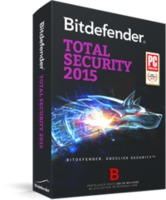 BITDEFENDER Total Security 1 year 1 user, черный