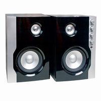 Speakers 2.0 Defender Diamond 19, 2x9W, Wooden, Silver/Brown