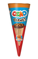 Печенье Ozmo Cornet карамель 25г