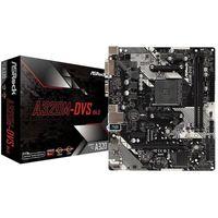 AsRock A320M-DVS R4.0, AM4 AMD A320 mATX