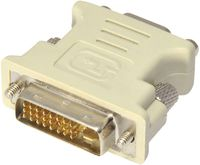 Adapter DVI-VGA  Gembird A-DVI-VGA Adapter, DVI-A 24-pin male to VGA 15-pin female