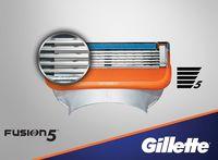 Кассета Gillette Fusion - 1 шт.