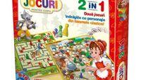 Joc de masă 2in1 Scufita rosie si Pinochio, cod 41183