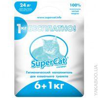 SuperCat Стандарт Наполнитель для кошачьего туалета - 6+1 кг