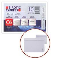 Конверт BIROTIC Express С6 114x162мм силиконовый, 10штук