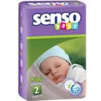 Senso Baby подгузники Mini 2, 3-6кг. 52шт