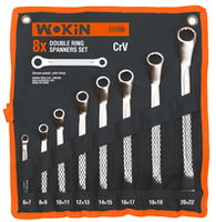 Набор накидных ключей в чехле 8 шт Wokin